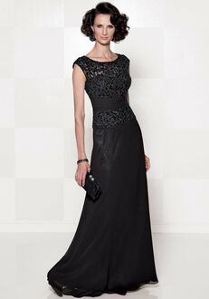 Cameron Blake 114657 Black Mother Of The Bride Dress
