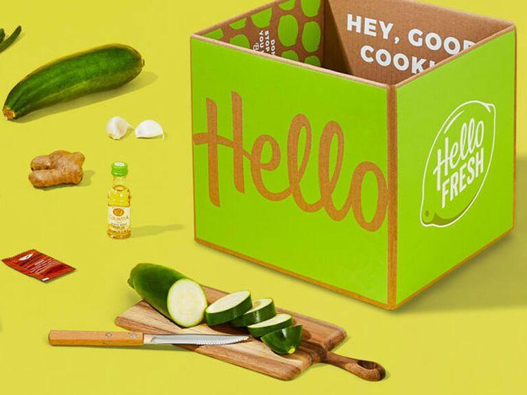 HelloFresh subscription fourth anniversary gift