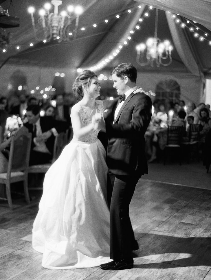 Traditional First Dance at Tented Reception