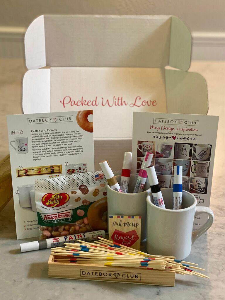 DateBox Club gift for newlyweds