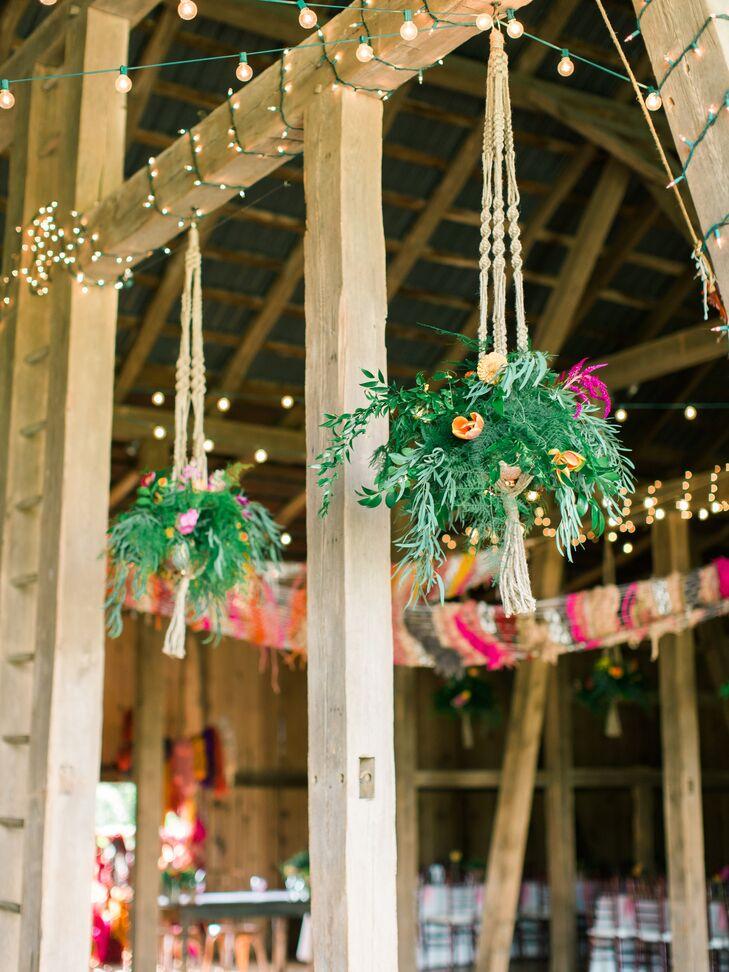Hanging Planters Barn Decor