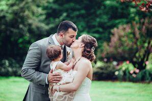 Spring Family Wedding Portrait in Bloomsburg, Pennsylvania