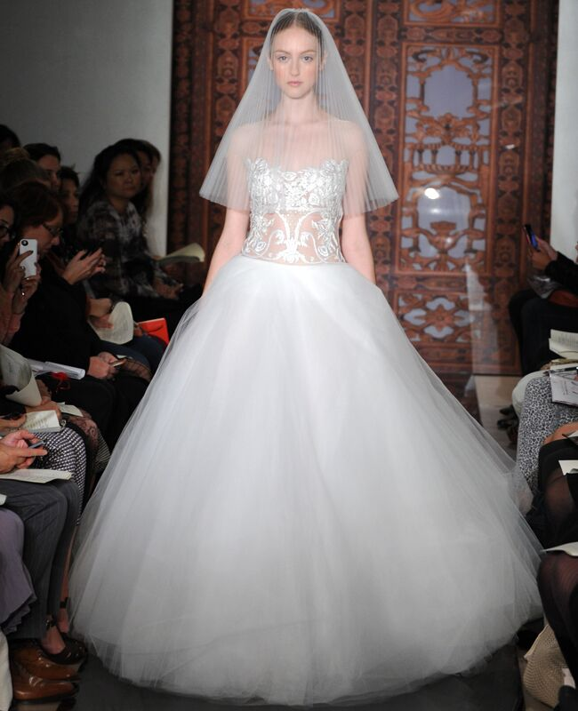 43660698a2 5 Dramatic Reem Acra Wedding Dresses We're #Obsessed With