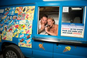 Nontraditional Ice Cream Truck Surprise Dessert