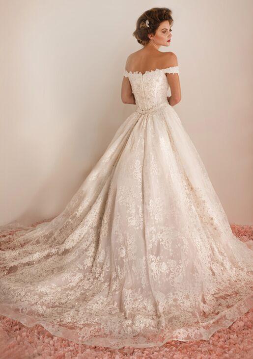 Ysa Makino KYM161 Sheath Wedding Dress