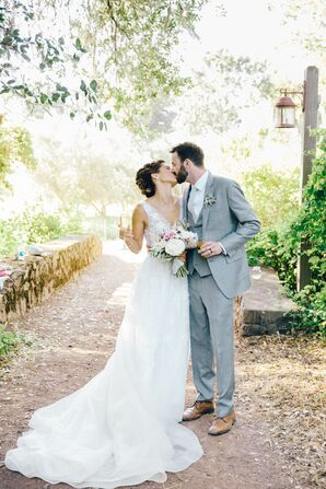 Summer Garden Wedding at Campovida