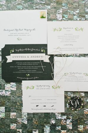 Whimsical Floral Stationery Suite