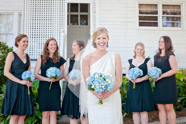 Hydrangea Bridesmaid Dresses Weddings Dresses