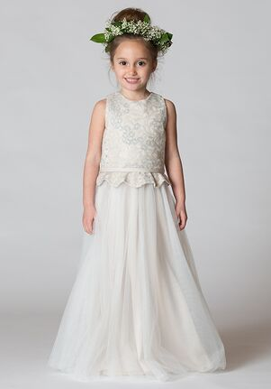 Bari Jay Flower Girls F7617 Ivory Flower Girl Dress