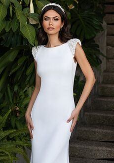 PRONOVIAS REED Sheath Wedding Dress