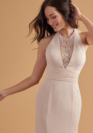 Belsoie Bridesmaids by Jasmine L204052 Halter Bridesmaid Dress