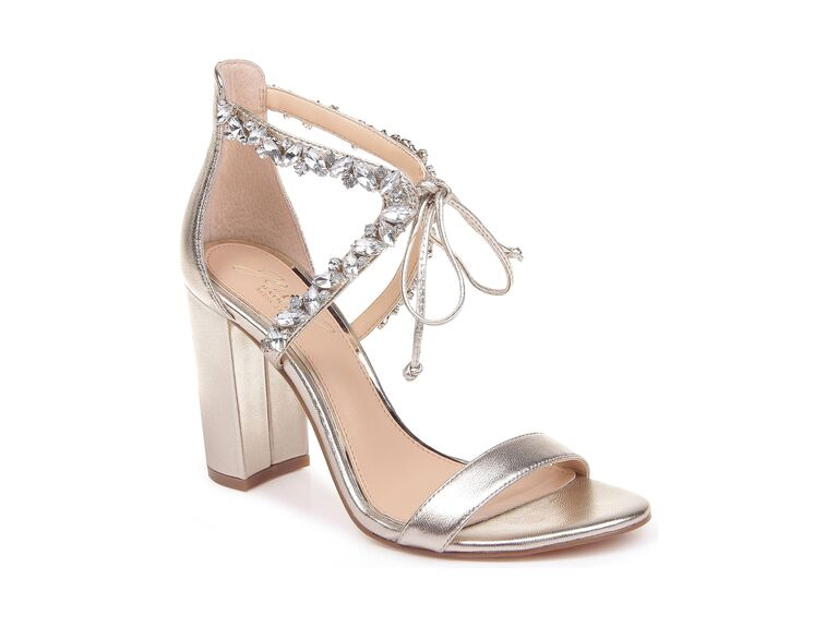 Jewel by Badgley Mischka Thamar embellished sandals