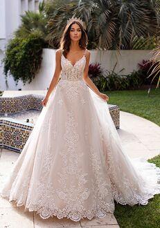 Moonlight Couture H1397 A-Line Wedding Dress