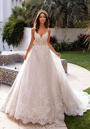 Moonlight Couture H1397 A-Line Wedding Dress