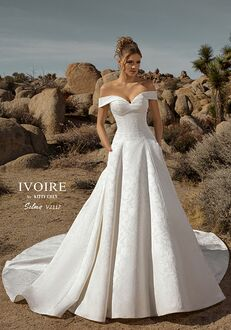 IVOIRE by KITTY CHEN SELMA,V2117 Ball Gown Wedding Dress