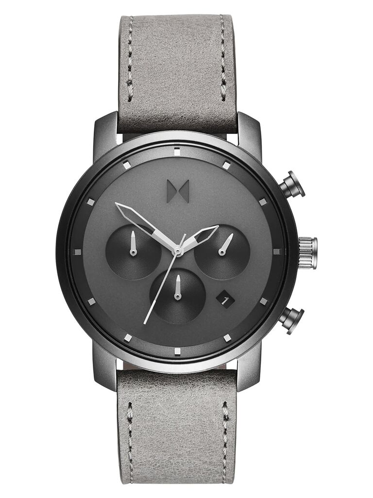 Silver anniversary gift watch for him