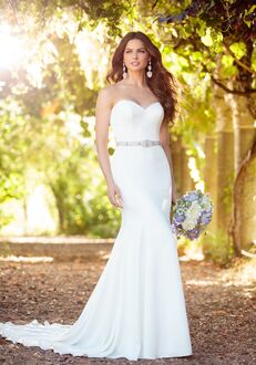 Essense of Australia D2256 Sheath Wedding Dress