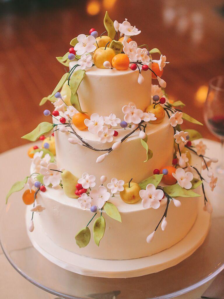 Sugar Flower Wedding Cakes: 24 Unique Sugar Flower Wedding ...
