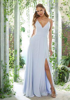 Morilee by Madeline Gardner Bridesmaids 21607 V-Neck Bridesmaid Dress