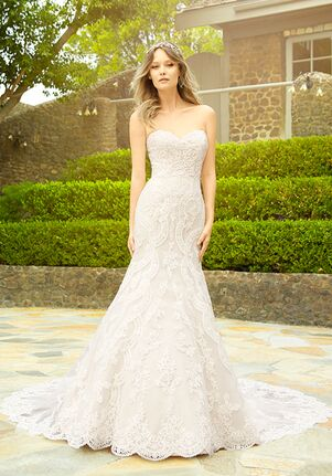 Moonlight Couture H1335 Mermaid Wedding Dress