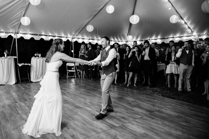 Meredith and Justin's First Dance