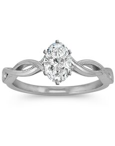 Shane Co. Elegant Princess, Asscher, Cushion, Emerald, Marquise, Pear, Round, Oval Cut Engagement Ring