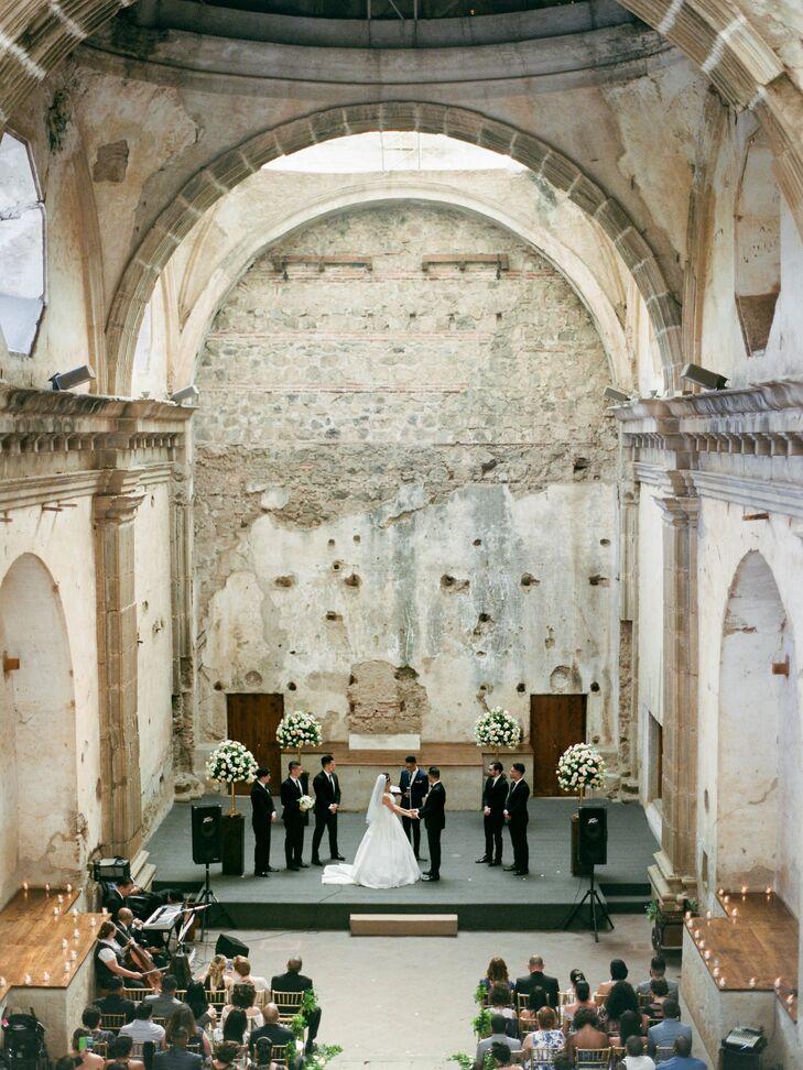 Historic Stone Church Ceremony