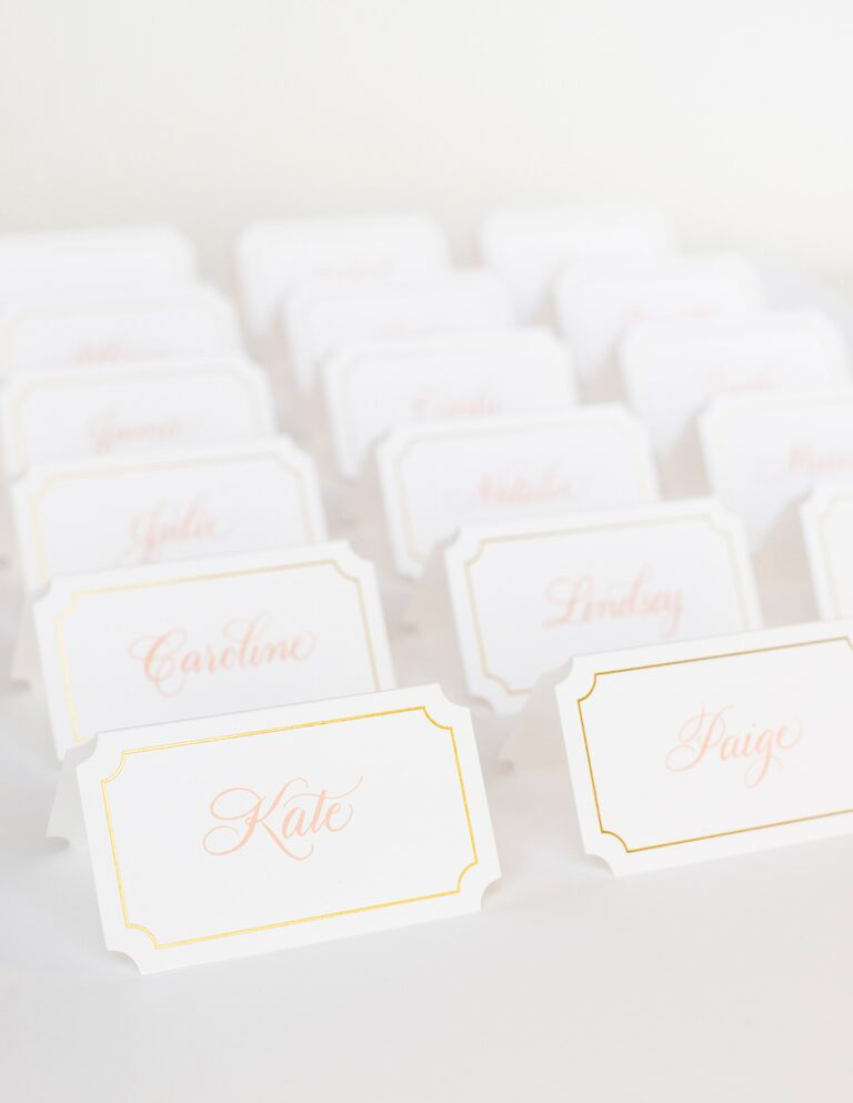 Placecards by Sugar Paper