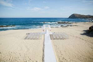 Beachfront Ceremony Setting