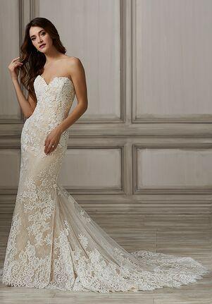 Adrianna Papell Platinum Hayden Sheath Wedding Dress