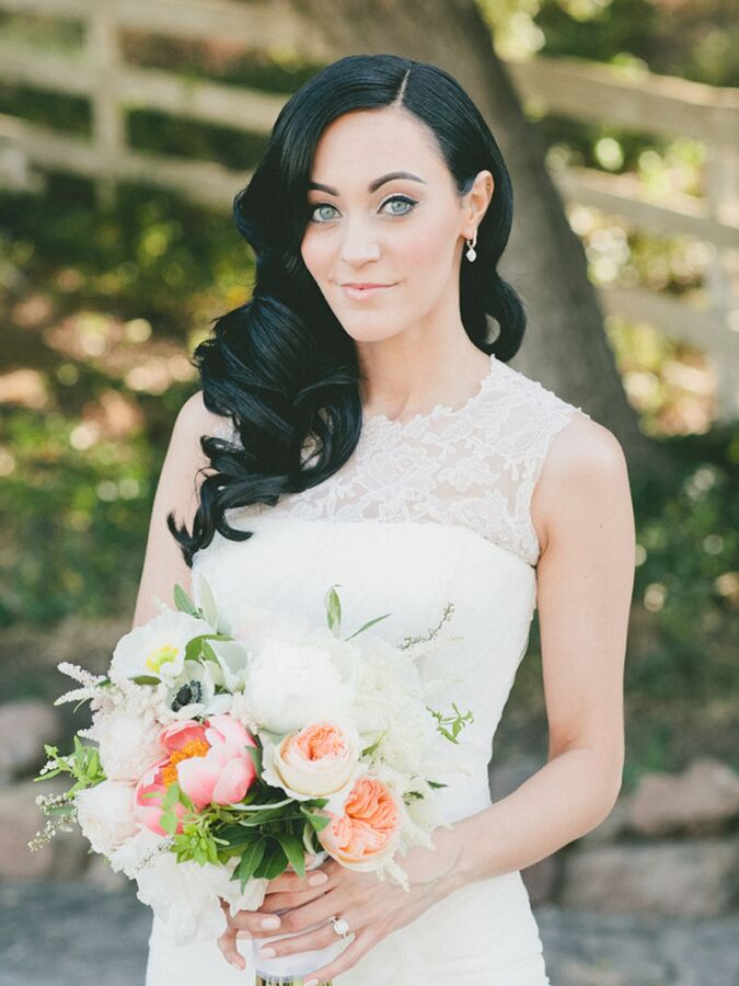 15 Gorgeous Makeup Looks For Brunette Brides