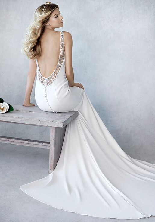 7246dc5f4ec5 Kenneth Winston: Ella Rosa Collection BE448 Wedding Dress | The Knot