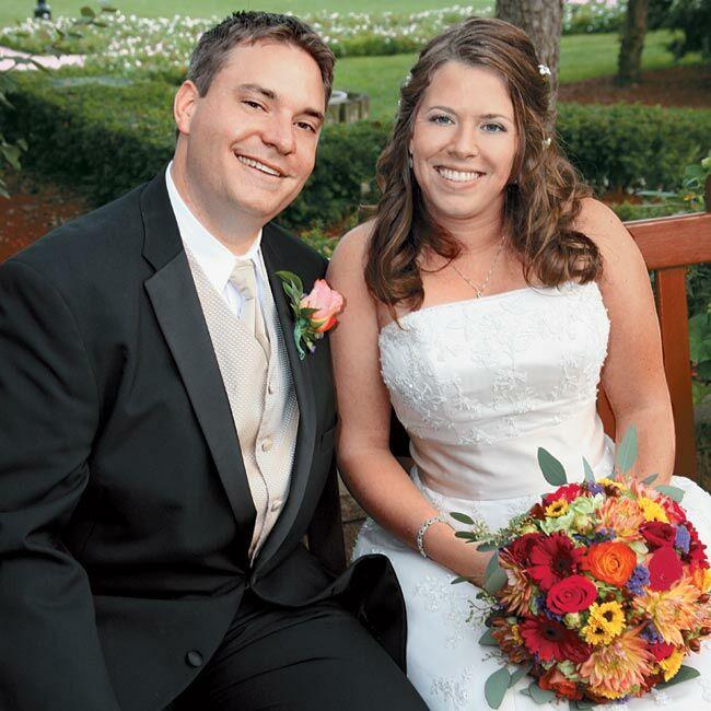 Simple Long Hair Wedding Style For Mother Of Groom In Her 60 S: Jenn & Jason In Dearborn, MI