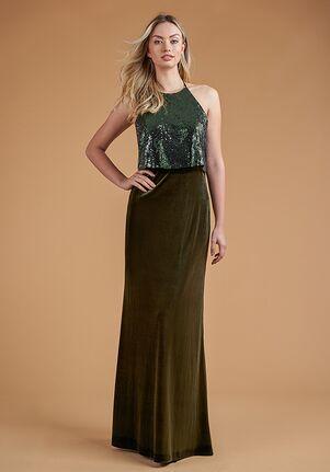 B2 Bridesmaids by Jasmine B223065 Halter Bridesmaid Dress