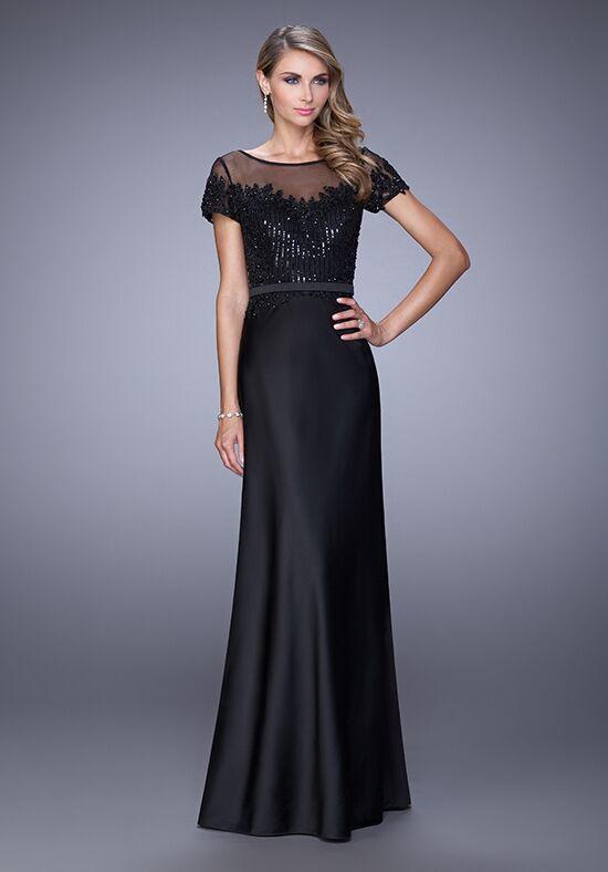 c1de3550c1 La Femme Evening 21662. Website. La Femme Evening 21662 Black Mother Of The  Bride Dress