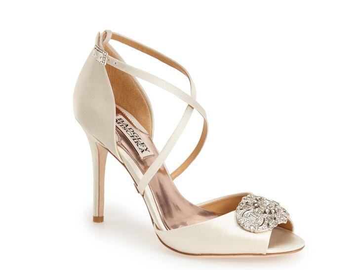 Badgley Mishka 'Sari' Crystal Sandal
