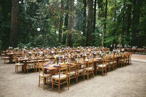 Outdoor Woods Reception