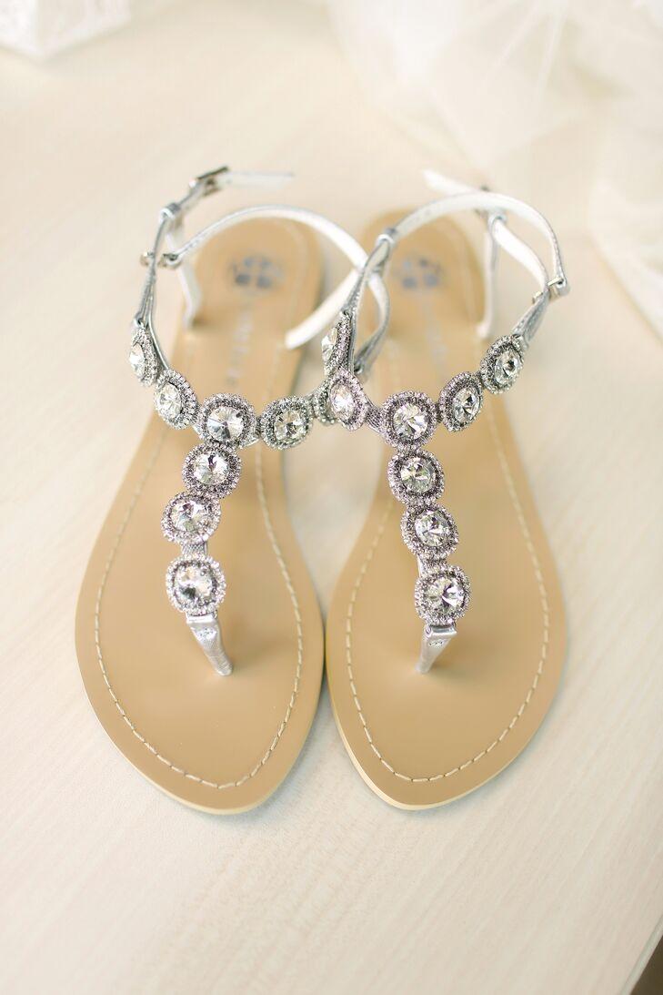 d65a63e26 Silver Etsy Wedding Sandals