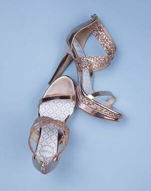 Hey Lady Shoes Double Trouble Black, Gold, Ivory, Pink, Silver, White, Gray, Champagne Shoe