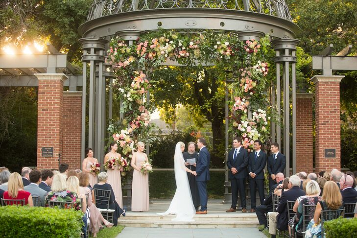 Romantic Formal Garden Ceremony