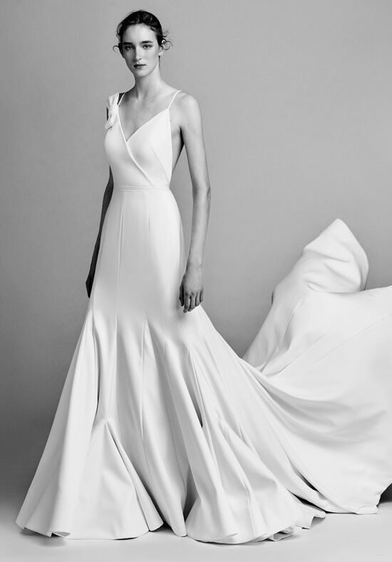 Viktor Amp Rolf Mariage Asymmetric Sculptural Godet Dress