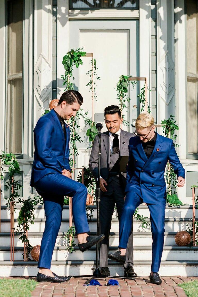 couple tradition personalization wedding