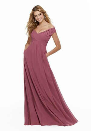 Morilee by Madeline Gardner Bridesmaids 21646 Off the Shoulder Bridesmaid Dress
