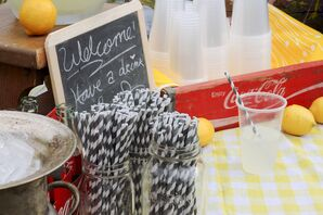 Coke and Refreshments at Outdoor Ceremony