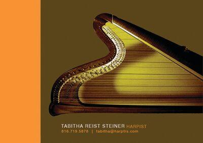Tabitha Reist Steiner, harp