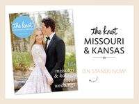 The Knot Missouri Kansas weddings magazine