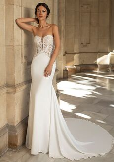 PRONOVIAS PRIVÉE SHEARER Mermaid Wedding Dress