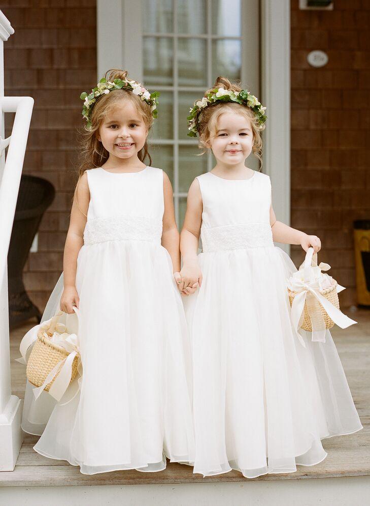 Classic Tulle Flower Girl Dresses