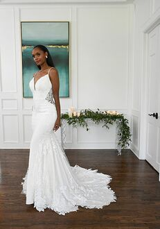 Essense of Australia D3263 Mermaid Wedding Dress