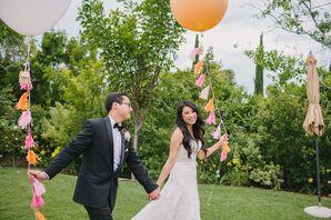 Giant Balloon Wedding Prop